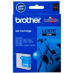 BROTHER - Brother LC-57C Orjinal Mavi Kartuş