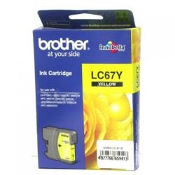 BROTHER - Brother LC67Y Orjinal Sarı Kartuş