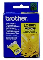 BROTHER - Brother LC-800Y Orjinal Sarı Kartuş
