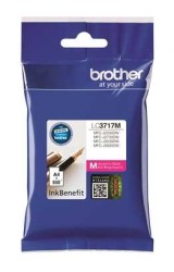 BROTHER - Brother LC3717M Orjinal Kırmızı Kartuş