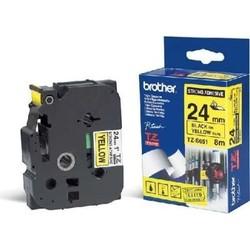 BROTHER - Brother TZE-651 P-Touch 24mm Sarı-Siyah Etiket
