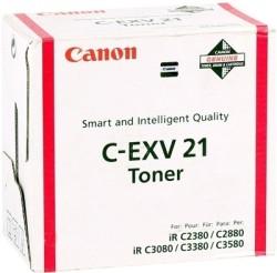 CANON - Canon C EXV-21 Orjinal Kırmızı Toner