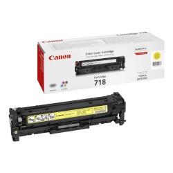 CANON - Canon CRG-718Y Orjinal Sarı Toner