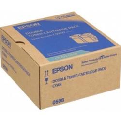 EPSON - Epson C9300 Orjinal Mavi Toner (2li Paket) S050608
