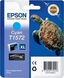 EPSON - Epson T1572 XL Orjinal Mavi Kartuş C13T15724010