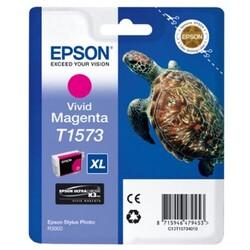 EPSON - Epson T1573 XL Orajinal Kırmızı Kartuş C13T15734010