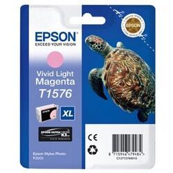 EPSON - Epson T1576 XL Açık Kırmızı Kartuş C13T15764010