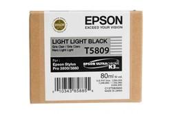EPSON - Epson T5809 Orjinal Açık Açık Siyah Kartuş Pro 3800/3880