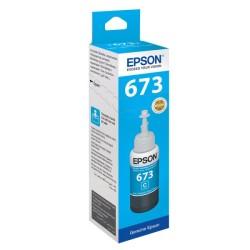 EPSON - Epson T6732 Orjinal Mavi Mürekkep Kartuşu C13T6732