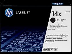 HP - HP 14X Orjinal Siyah Toner CF214X