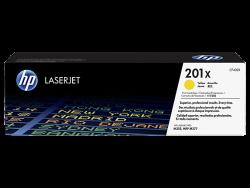 HP - HP CF402X Orjinal Sarı Toner 201X