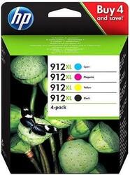 HP - HP 3YP34AE Orjinal Multipaket Kartuş 912XL