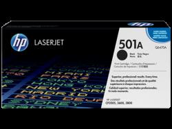 HP - HP Q6470A Orjinal Siyah Toner 501A