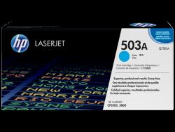 HP - HP Q7581A Orjinal Mavi Toner 503A