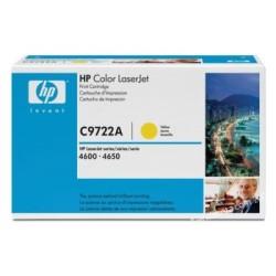 HP - HP C9722A Orjinal Sarı Toner