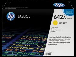 HP - HP CB402A Orjinal Sarı Toner 642A