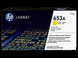 HP - HP CF322A Orjinal Sarı Toner 653A