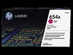 HP - HP CF333A Orjinal Kırmızı Toner 654A