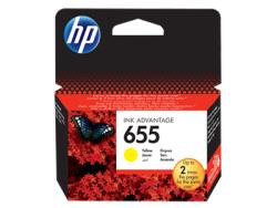 HP - HP 655 Orjinal Sarı Kartuş CZ112AE