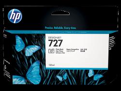HP - HP B3P23A Orjinal Foto Siyah Kartuş 727 (130ML)