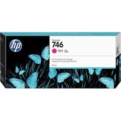 HP - HP 746 Orjinal Kırmızı Kartuş P2V78A (300 ML)
