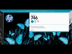 HP - HP 746 Orjinal Mavi Kartuş P2V80A (300 ML)