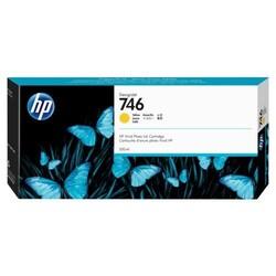HP - HP 746 Orjinal Sarı Kartuş P2V79A (300 ML)