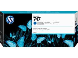 HP - HP 747 Kromatik Mavi Mürekkep Kartuş P2V85A (300 ML)