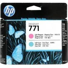 HP - HP 771 Açık Kırmızı-Açık Mavi Baskı Kafası CE019A