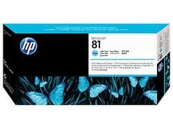 HP - HP 81 Orjinal Açık Mavi Baskı Kafası C4954A