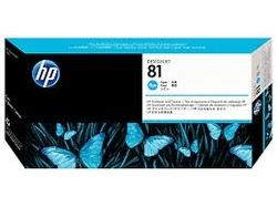 HP - HP 81 Orjinal Mavi Baskı Kafası C4951A