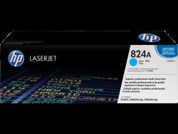 HP - HP CB381A Orjinal Mavi Toner 824A