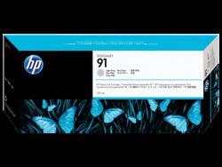 HP - HP C9466A Orjinal Açık Gri Kartuş 91 (775ML)