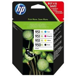 HP - HP 950XL-951XL Orjinal Multipaket Kartuş C2P43AE