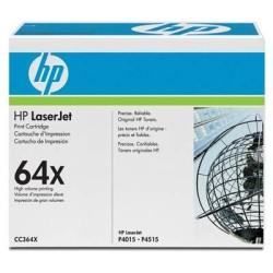 HP - HP CC364X Orjinal Siyah Toner 64X