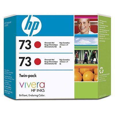 HP CD952A Kromatik Kırmızı Orjinal Kartuş 73 (2li Paket)
