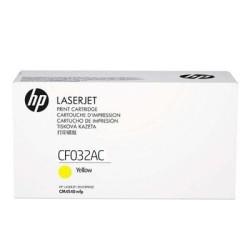 HP - HP CF032AC Orjinal Sarı Toner