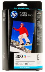 HP - HP CG846EE Orjinal Renkli Kartuş (Fotoğraf Kağıdı Hediyeli) 300
