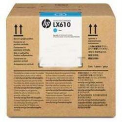 HP - HP CN674A Orjinal Açık Mavi Lateks Mürekkep Kartuş LX610