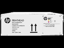 HP - HP CR327A Orjinal Sarı-Kırmızı Lateks Baskı Kafası 881