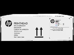 HP - HP CR329A Orjinal Açık Mavi-Açık Kırmızı Lateks Baskı Kafası 881