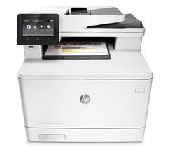 HP - HP M477FNW Renkli Lazer Yazıcı Tarayıcı/Fotokopi/Faks/Network/Wifi CF377A