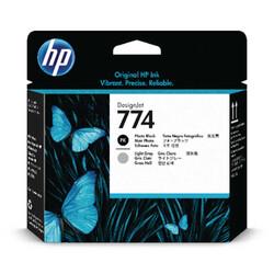 HP - HP P2W00A Orjinal Foto Siyah-Açık Gri Baskı Kafası 774