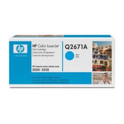 HP - HP Q2671A Orjinal Mavi Toner