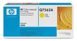 HP - HP Q7562A Orjinal Sarı Toner 2700/3000