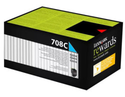 LEXMARK - Lexmark 70C80C0 Orjinal Mavi Toner 708C