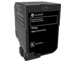 LEXMARK - Lexmark 74C5HK0 Orjinal Siyah Toner