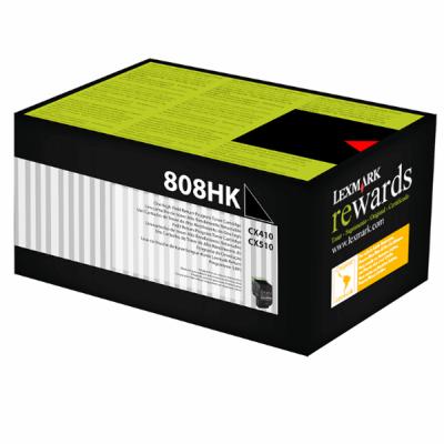 Lexmark 80C8HK0 Orjinal Siyah Toner