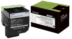 LEXMARK - Lexmark 80C8XK0 Orjinal Siyah Toner