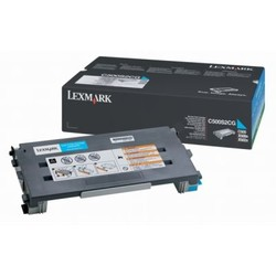 LEXMARK - Lexmark C500H2CG Orjinal Mavi Toner (3K)